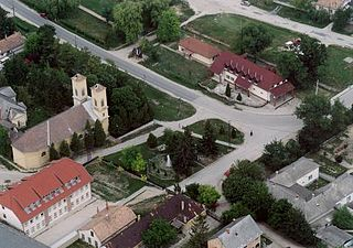 Polgárdi Town in Fejér, Hungary