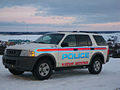 Police car in Kuujjuaq (Fort-Chimo), Québec, Canada.jpg