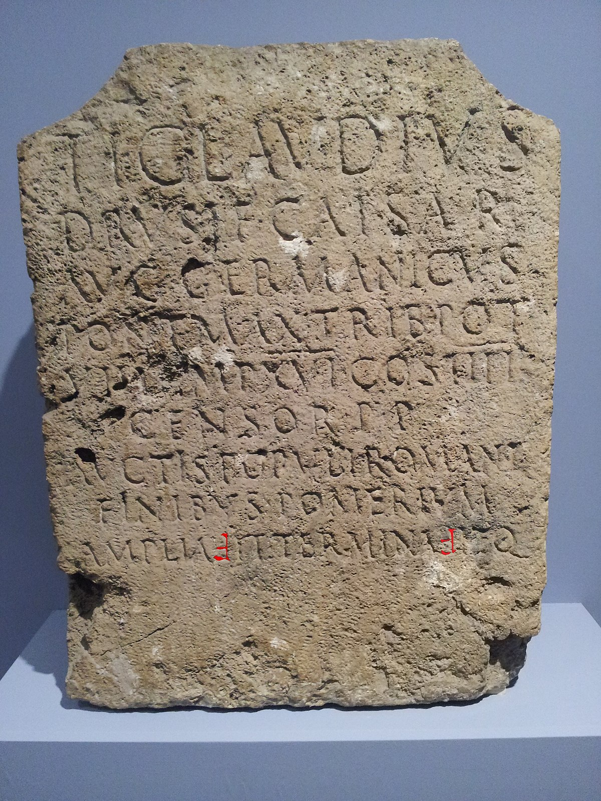 claudian letters