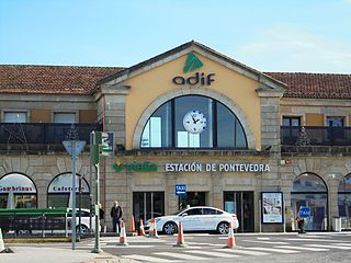 Pontevedra railway station Train station in Pontevedra, Spain