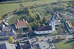 Poroszló, református templom légi felvételen.jpg