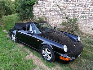 Porsche 964 - Porsche 964 Carrera 2 cabriolet