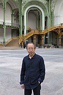Portrait Huang Yong Ping, Monumenta 2016, Grand Palais, Paris - Photo. Fabrice Seixas.jpg