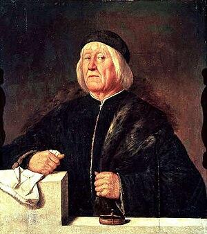 Teofilo Folengo - Portrait by Romanino