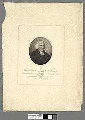 The Revd. Richd. Evans, A.M