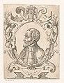 Portret van Jean de la Valette, grootmeester van de Orde van Malta Portretten van vorsten en andere illustere figuren (serietitel) Imagines Quorundam Principum et Illustrium Virorum (serietitel), RP-P-1944-803.jpg