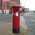 Post box at York Road, Poulton.jpg
