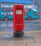 Post box on London Road, Liverpool.jpg