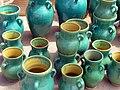 Pottery in Iran - qom فروشگاه سفال در ایران، قم 02.jpg
