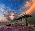 Poulnabrone Dolmen Sunset - Lavender Fantasy (11108752186).jpg