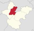 Powiat polkowicki - lokalizacja gminy Radwanice.png