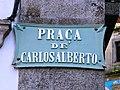 Pr Carlos Alberto placa (Porto).JPG