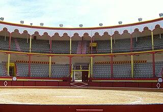 Nazaré Bullring Bullfighting arena in Nazaré, Portugal