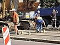 Praha, Petřiny, rekonstrukce trati, 019.jpg