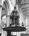 preekstoel klankbord met bekroning - amsterdam - 20012512 - rce