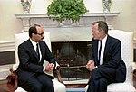 President George H. W. Bush with Sheikh Saud Nasir Al Sabah.jpg
