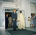President John F. Kennedy with Abubakar Tafawa Balewa, Prime Minister of Nigeria (04).jpg