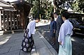 President Zourabichvili Arriving at Meiji Shrine.jpg