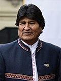 Evo Morales in 2017