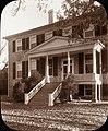 Prestwould, Clarksville vicinity, Mecklenburg County, Virginia. Pedimented entrance.jpg