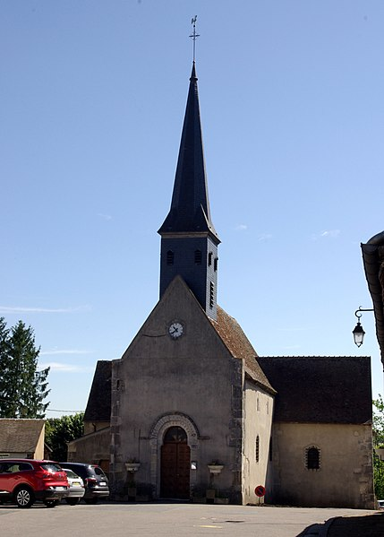 Church of Preuilly (France, Cher)