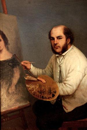 Prilidiano Pueyrredón - Self-portrait