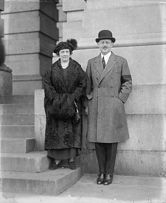Princess Anastasia of Greece and Denmark - Prince Christopher and his wife, Nonnie May Stewart, 1923