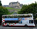 Princes Street, bus and castle - geograph.org.uk - 2582625.jpg
