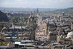 Edynburg - Rose Street - Wielka Brytania