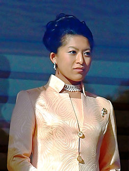 Princess Tsuguko cropped 2 The New Year Greeting 2011 at the Tokyo Imperial Palace.jpg
