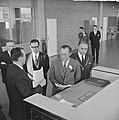 Prins Bernhard opende computerfabriek N.V. Electrologica te Rijswijk, de Prins t, Bestanddeelnr 917-1783.jpg