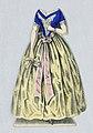 """Print, Jenny Lind Paper Doll Costume, Agathe from the opera """"Der Freischutze"""" (The Freischutz), ca. 1850 (CH 18392603).jpg"""