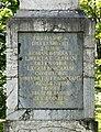Puch, Kaiser-Ludwig-Säule, nördl Aufschrift, 2.jpeg