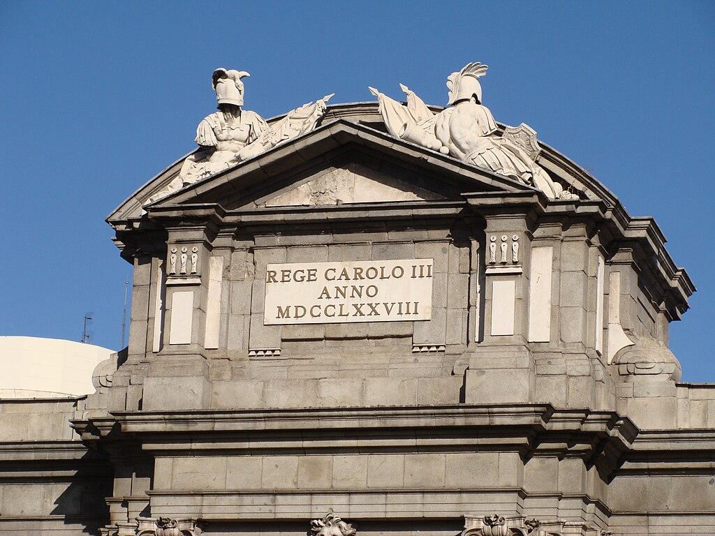 Archivo Puerta De Alcal Detalle 011 Madrid Jpg