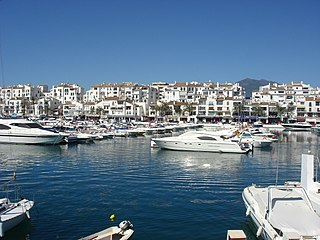 Puerto Banús Town and marina in Andalusia, Spain