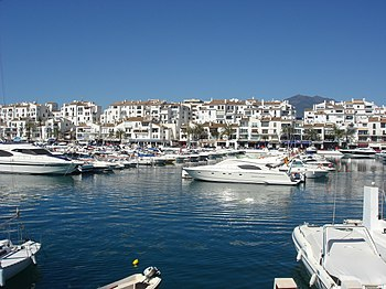 English: Puerto Banús, Marbella, Spain