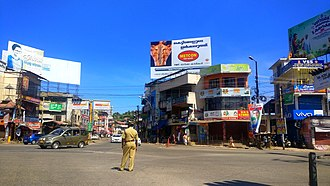Kottarakkara (Assembly constituency) - Image: Pulamon Junction in Kottarakara,