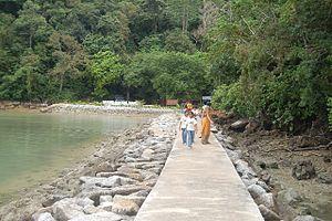 Bahasa Melayu: Pulau Dayang Bunting - pangkalan