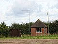 Pump house in the corner of a field - geograph.org.uk - 989197.jpg