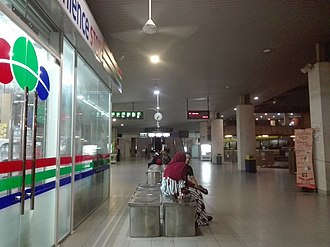 Putrajaya Sentral, Putrajaya - Image: Putrajaya Sentral bus platform