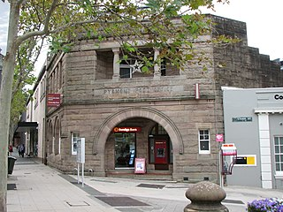 Pyrmont Post Office historic commonwealth heritage site in Pyrmont NSW