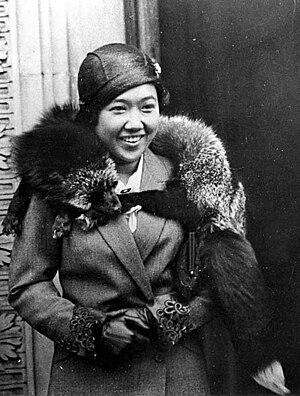 Rambai Barni - Queen Rambai Barni, exile in London, 1934