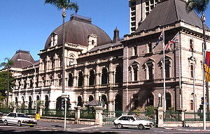 Parliament House, Brisbane, Australia.