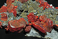 Réalgar, tétrahédrite, orpiment, quartz 2.JPG