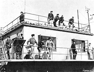 RAF Metfield - The control tower at RAF Metfield, on 30 May 1944, AAF personnel waiting for returning aircraft.