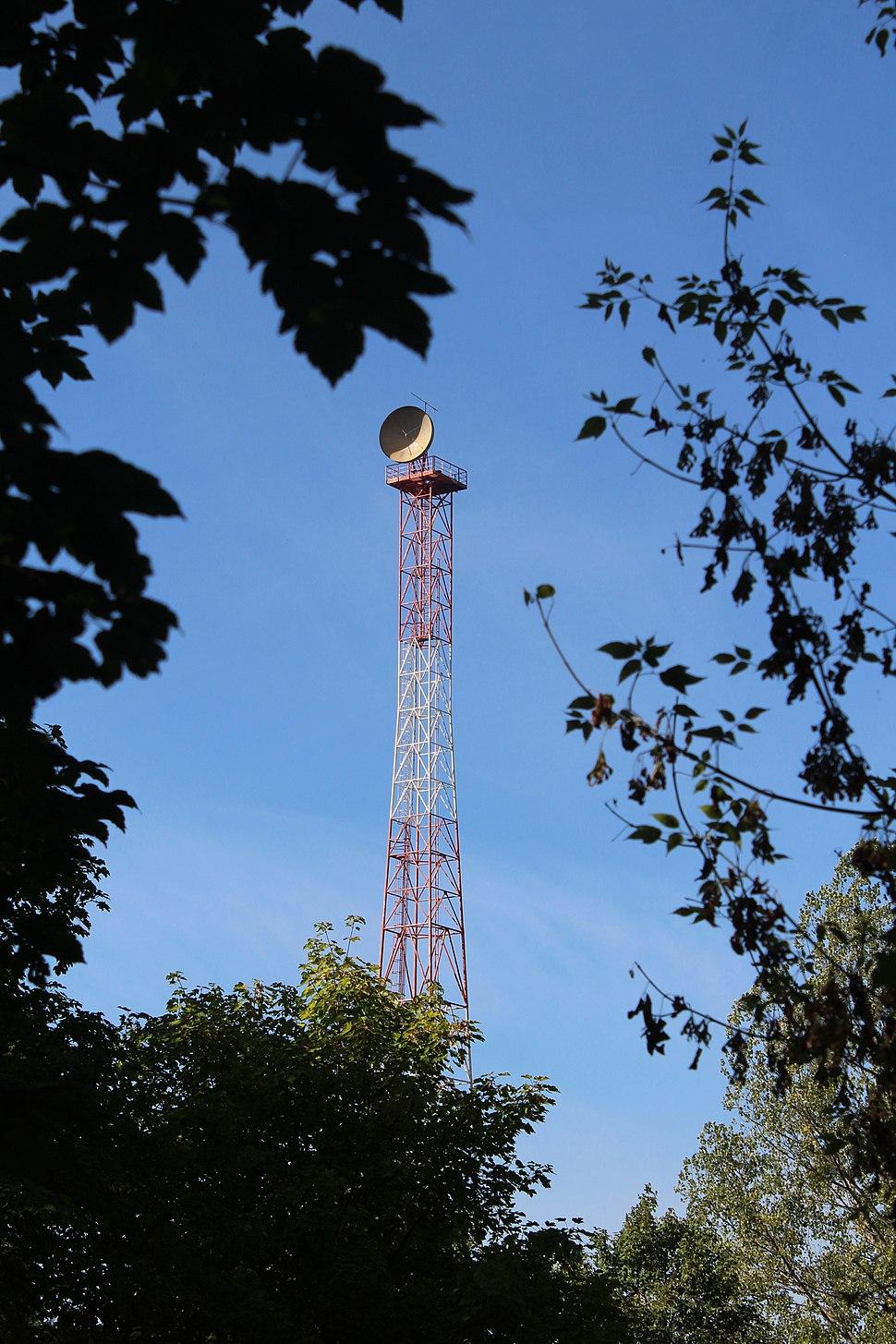 Warsaw radio mast - Howling Pixel