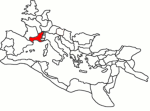 Tacitus is thought to have come from Gallia Narbonensis.