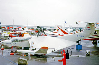 RFB X-113 - The RFB X-113 Aerofoil Boat exhibited at the 1973 Paris Air Show at Le Bourget Airport