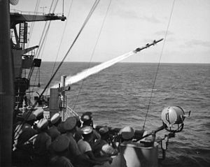 RIM-8 Talos launch USS Galveston (CLG-3) 1959.jpg