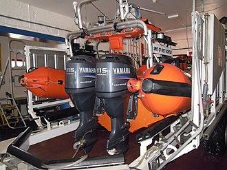 Hunstanton Lifeboat Station - Image: RNLB Spirit of West Norfolk 13 August 2014 (2)